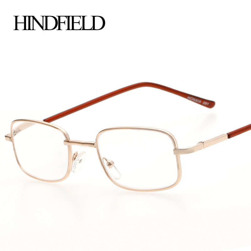 Image 2016 Metal Reading Glasses Women Men Prescription lenses +100,+200,+300,+400 .CJ081