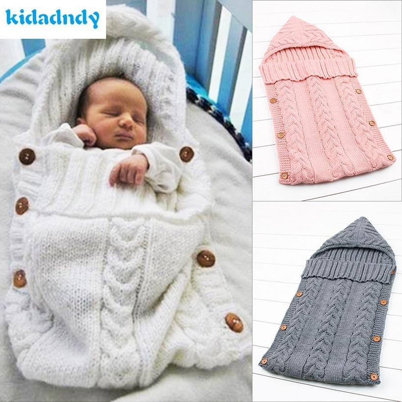 KiDadndy Manta de bebé Swaddle Saco de invierno Saco Cochecito Saco - Ropa de cama