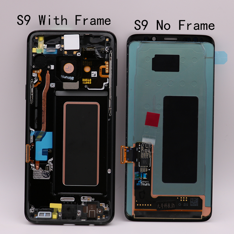 """NEW 100 SUPER AMOLED 5 8 LCD Replacement for SAMSUNG Galaxy S9 LCD Touch Screen Digitizer NEW 100% SUPER AMOLED 5.8"""" LCD Replacement for SAMSUNG Galaxy S9 LCD Touch Screen Digitizer with Frame G960 G960F display"""