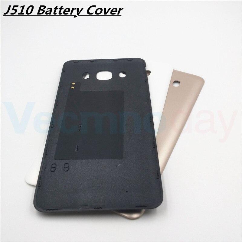 Vecmnoday 5.2 &#187;для Samsung Galaxy <font><b>J5</b></font> 2016 версия J510 J510F Корпус задняя крышка сзади Батарея двери Fundas Запчасти для авто