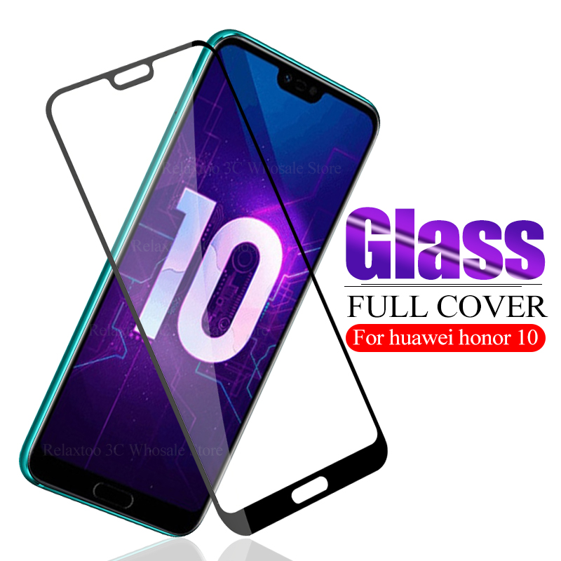 3D Saftety Glass On Honor 10 Glass Screen Protector Honor 10 Protective Glass Honer 10 Honor10  Hono COL-L29 5.84