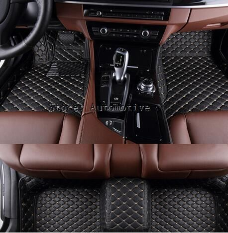 Good carpets! Custom special floor mats for Mercedes Benz S Class W221 2013 2005 waterproof carpets for MB W211,Free shipping