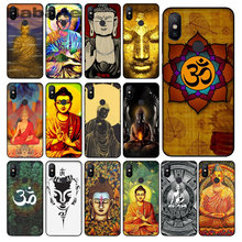 Gautama Buddha Smart Cover Black Soft Shell Phone Case For Xiaomi MI8 6 Note2 Note3 Redmi Note 5 5PLUS MIX2 MIX2S(China)