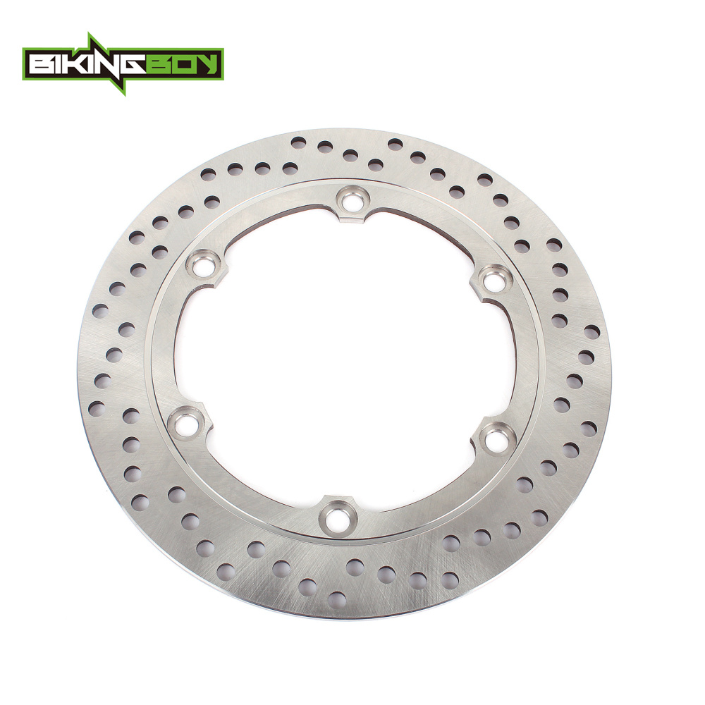 цена BIKINGBOY Rear Brake Disc Disk Rotor For HONDA CBR 1100 XX Blackbird 97-08 XL 1000 V Varadero / ABS VFR 750 F F2 Interceptor