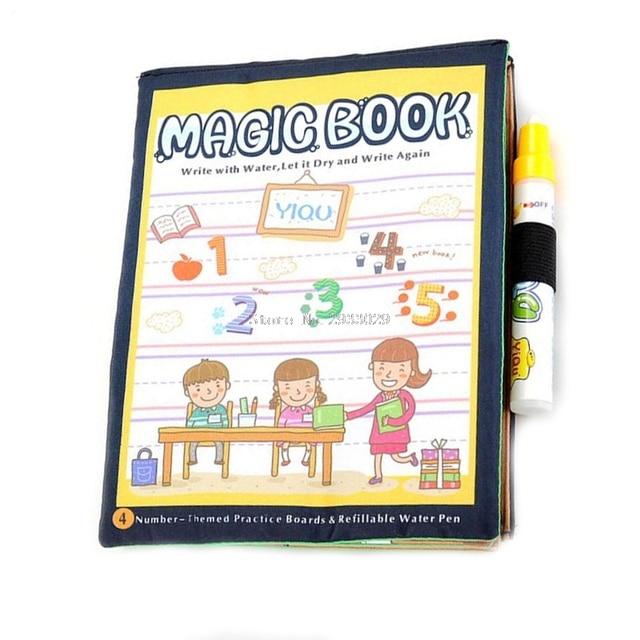 Aliexpress.com : Buy Kids Magic Paint Book With Water Drawing Pen ...