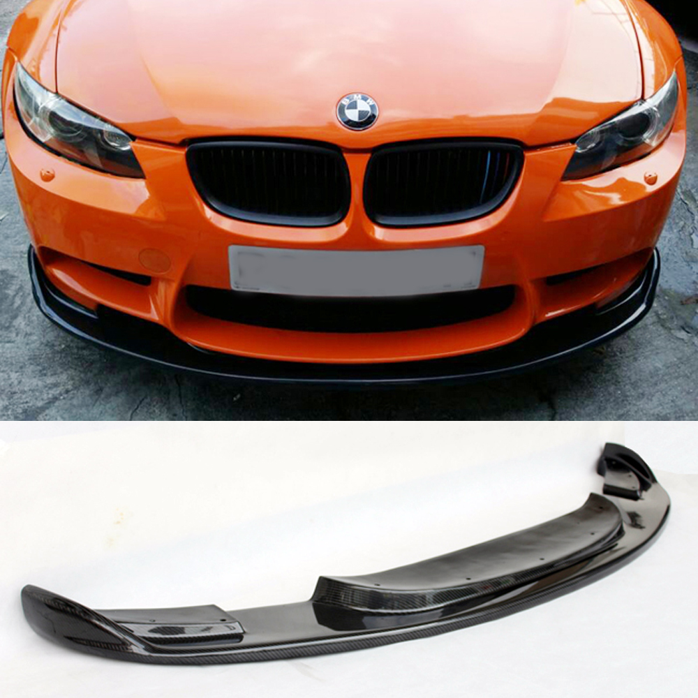 E92 M3 Car Styling Carbon Fiber Body Kit Front Bumper Lip for BMW E92 2006-2013 M3 Bumper Only