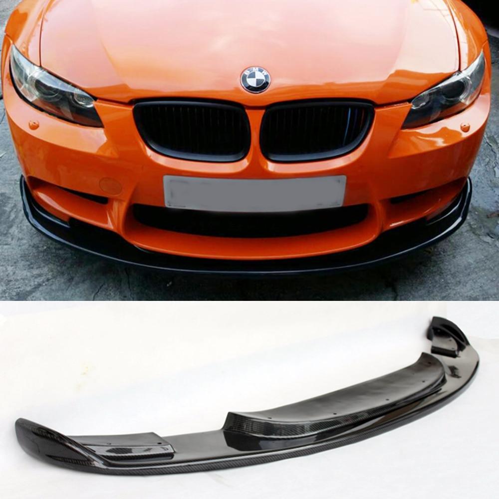 E92 M3 Car Styling Carbon Fiber Body Kit Front Bumper Lip ...