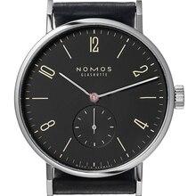 Nomos de los hombres Relojes de Primeras Marcas de Lujo Para Hombre Reloj de Cuarzo Hora fecha Reloj de Moda Correa de Cuero Casual Reloj Hombre Militar Del Ejército reloj