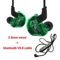 KZZSR Hybrid 2DD+4BA Ecouteur Sans Fil Oreillette Bluetooth Earphones Sport Earphone Auricular Bluetooth Draadloze Oordopjes
