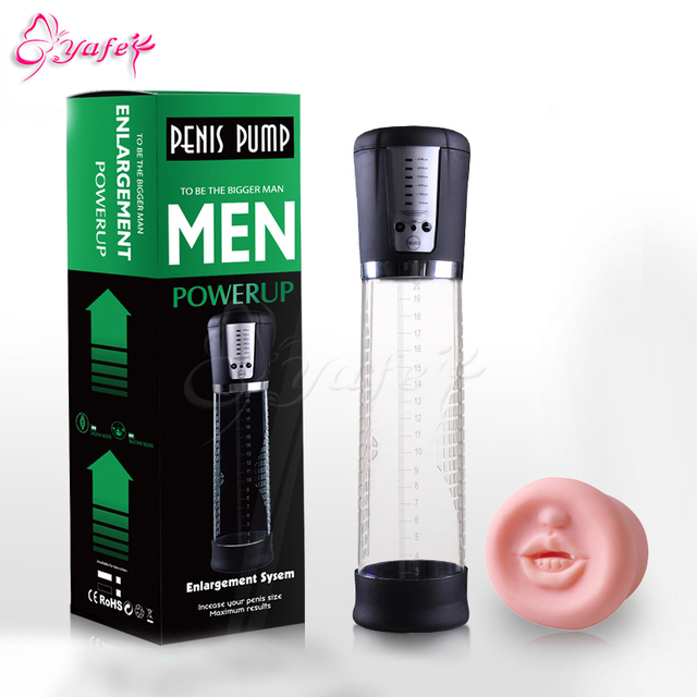 USB rechargeable Electric big Penis Enlarge vacuum Pump, Effective penis Enlargement Dildo enlarger pump adult  sex toy for men