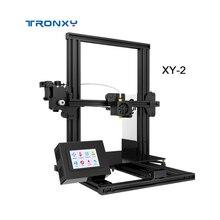 TRONXY 3d принтер, XY-2, модернизированное закаленное стекло, дополнительный V-slot, возврат питания, сбой печати, 3d принтер, комплект горячей кровати