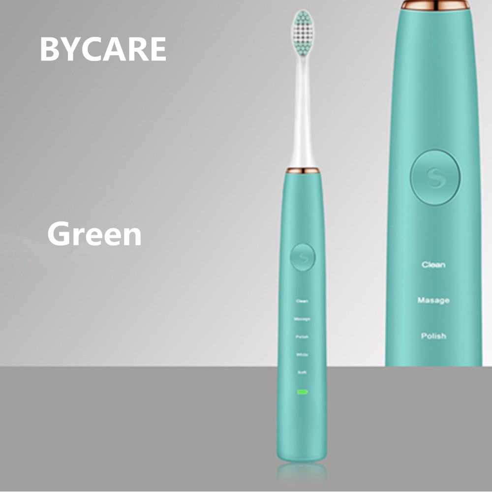BYCARE Cross Action Teeth Brush Battery Teeth Whitening Brush Electric Toothbrush for Adults Toothbrush 2017 teeth whitening oral irrigator electric teeth cleaning machine irrigador dental water flosser professional teeth care tools