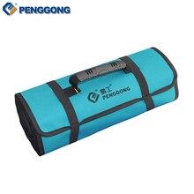 Reels Storage Tools Bag Multifunction Utility Bag Electrical Package Oxford Canvas Waterproof With Carrying Handles
