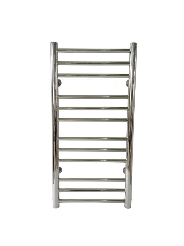 цена на 2018 Popular Polished Straight Water Heated Stainless Steel 304 Hydronic Water Towel Warmer 7016