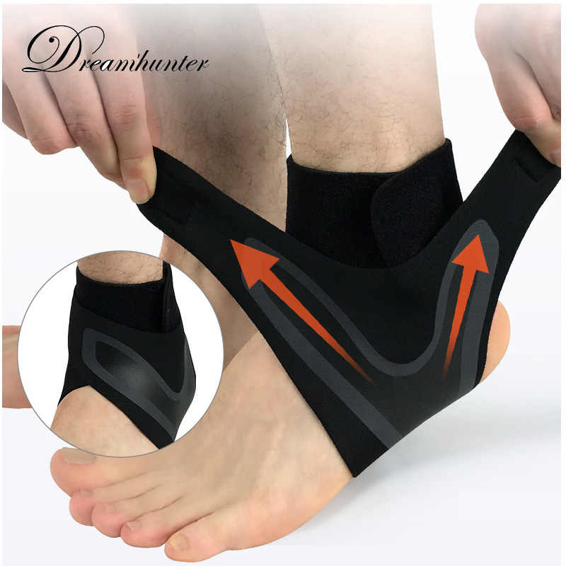 399498825c 1PC Compression Ankle Protectors Anti Sprain Outdoor Basketball Football  Ankle Brace Supports Straps Bandage Wrap Foot