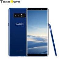 Оригинальный разблокирована samsung Galaxy Note 8 N950U/N950F/N950FD, Примечание 4G LTE, гарантия 1 год