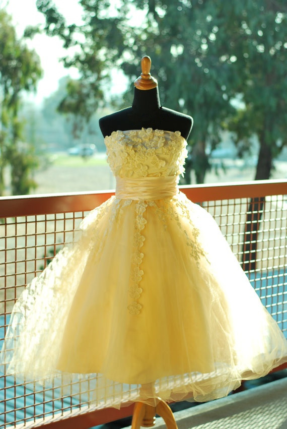 Compare Prices on Yellow Short Prom Dress- Online Shopping/Buy Low ...