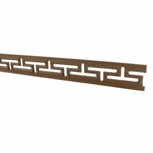 Image 3 - 装飾ライン花ウッド刻まれたデカールコーナーアップリケフレーム壁家具木彫り木製置物工芸品ホーム100センチ