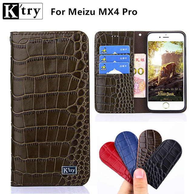 K'try Fundas High Quality Flip Cover Case Meizu MX4 pro Genuine Leather Holster For Meizu MX4 Pro 5.5'' Phone Shell Capa