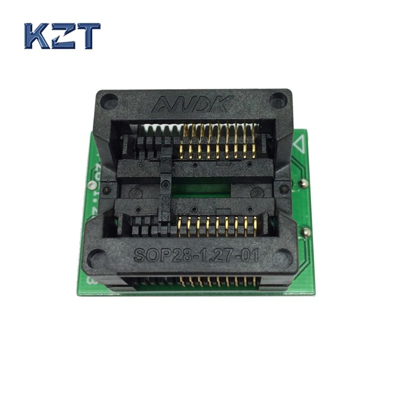 SOP18 SOIC18 SO18 to DIP18 Programming Socket Pitch 1.27mm IC Body Width 7.5mm 300mil Test Socket Adapter msop8 to dip8 mcu programmer test socket pitch 0 65mm ic body width 3mm programming socket adapter
