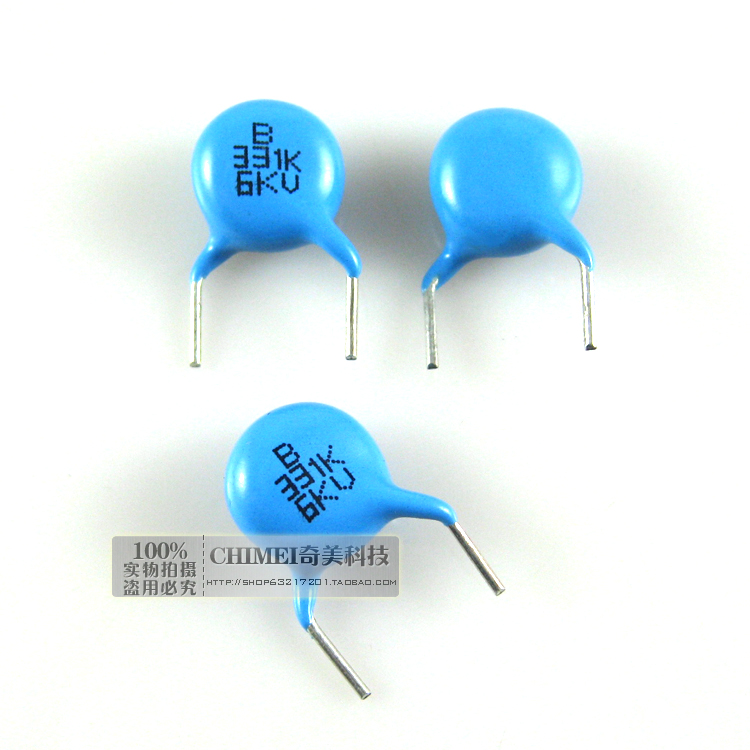 High-voltage Ceramic Capacitors 6KV 331K Capacitors Used To Eliminate High-frequency Interference