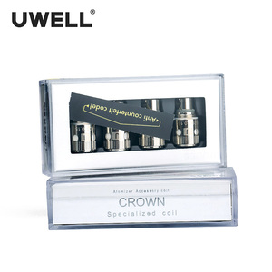 Image 2 - Uwell 4 Stks/pak Crown Ik Coil Vervanging Coils Voor Crown I/Crown I Mini Tank Verstuiver 0.15ohm/0.25ohm/0.5ohm/1.2ohm