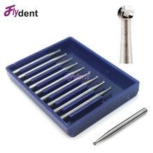 10 Pcs Dental product FG round bur free shipment dental Lab Tungsten Carbide Burs FG