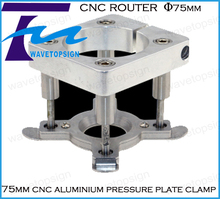 75MM auto pressure plate clamp 75mm cnc router spindle automatic cnc spindle parts