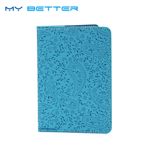 High Quality Lavender Travel Passport Holder Cover PU Leather ID Card Ticket Organizer Case new pu leather passport cover holder women men travel credit card holder travel id card document passport holder