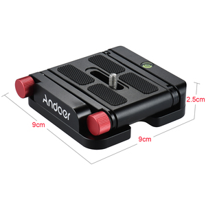 Image 3 - Andoer New Z hình Nhanh Chóng Phát Hành Tấm Có Thể Gập Lại Máy Ảnh Desktop Chủ Đầu Nghiêng cho Canon Nikon Sony DSLR Pentax Video Slider