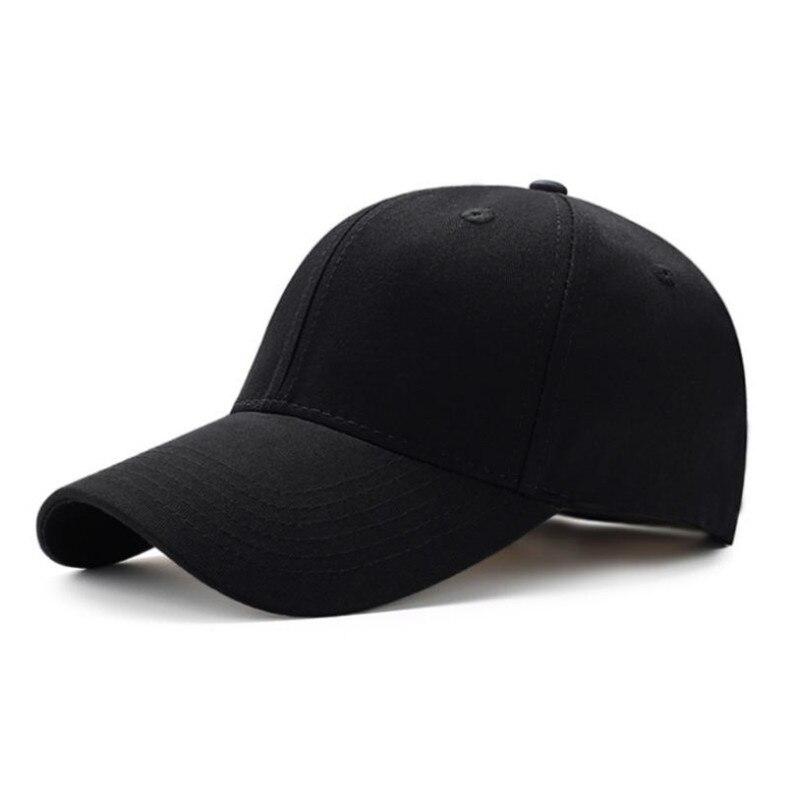 Baseball Cap Snapback-Hat Plain Fashion Unisex Women Newest Solid Adjustable Sun-Visor