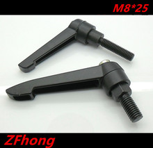5pcs M8*25 M8 Clamping Lever , 8mm Adjustable Handle screw