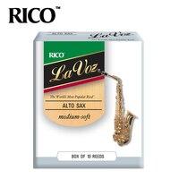 RICO La Voz Alto Sax Reeds Strength Medium Soft Medium 10 Pack Free Shipping