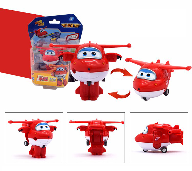 12pcs/set Super Wings Mini Airplane ABS Robot toys Action Figures Super Wing Transformation Jet Animation Children Kids Gift-in Action & Toy Figures from Toys & Hobbies    3