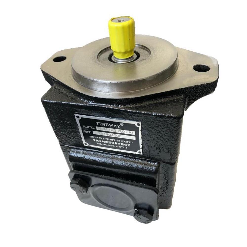 T6 Pump T6CM Vane One stage Hydraulic Parts T6CM-B25-3L00-A1 Single Oil
