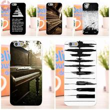 EJGROUP Music Software Piano Plug Soft TPU Silicon Popular Hot For Apple iPhone 6 6S 4.7 inch
