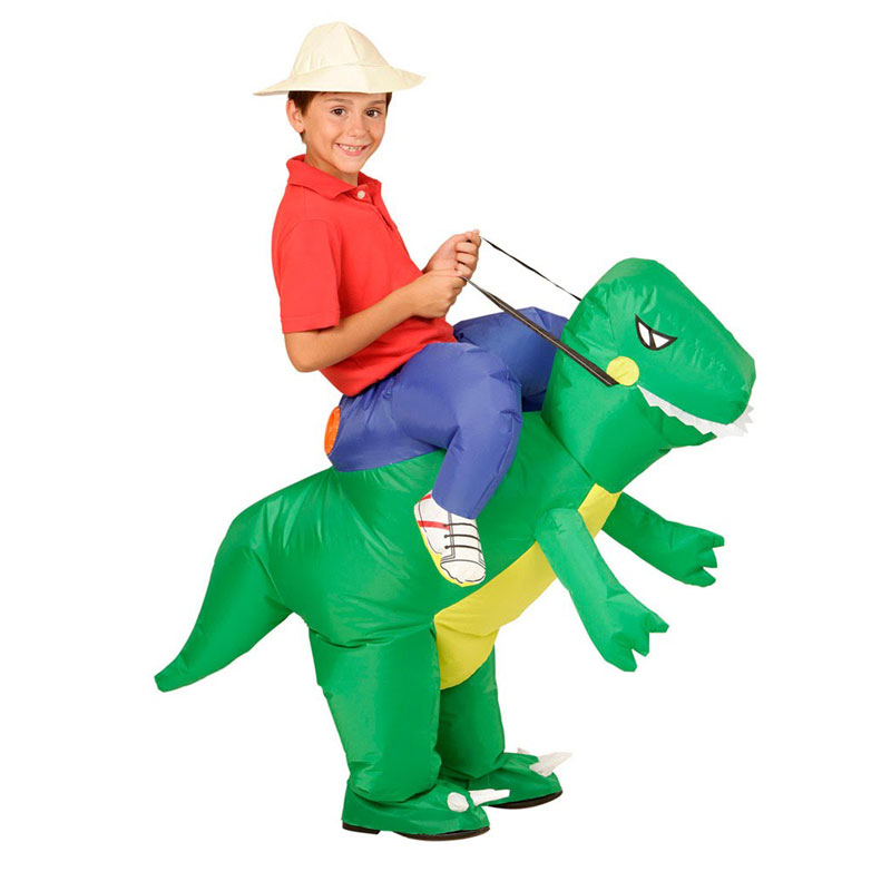 traje de dinosaurio inflable para los nios nios nias trajes temticos animal divertido fancy dress traje