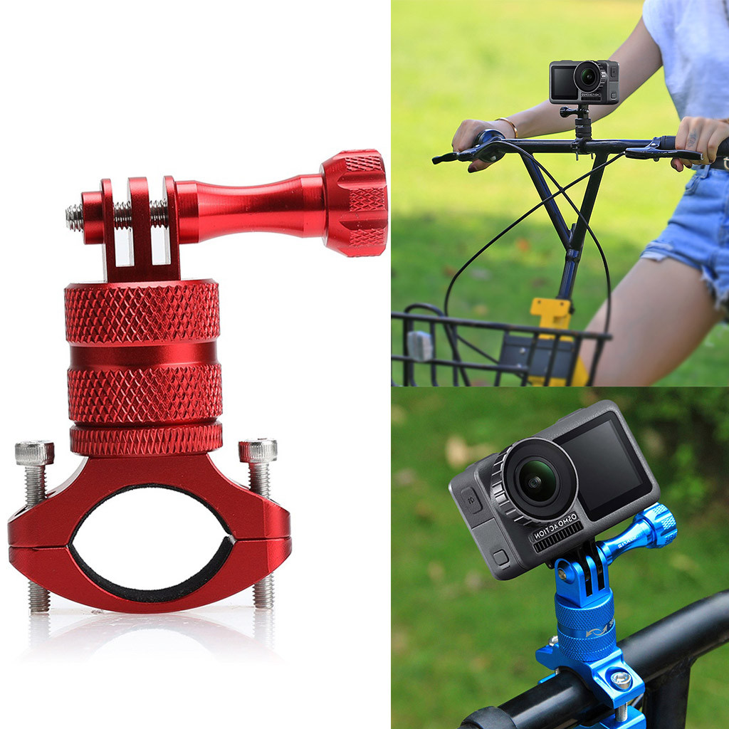 HTC RE Camera Bicycle Bar Mount Adjustable Clamp Fits any Bike Handlebar