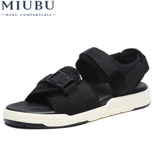 MIUBU Summer Woman Casual Sandals Lover Fashion Breathable Soft Bottom Female Beach Non-slip Flip Flops Plus Size