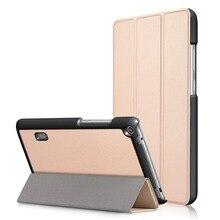 Tablet Case For Huawei Media Pad T3 7 0 WiFi Version BG2 W09 Slim Folding PU