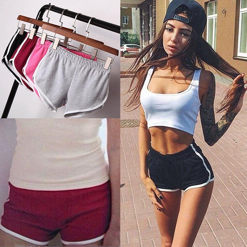 Hot Casual Shorts Women ShortPants Summer Women Loose Solid Soft Cotton Casual Female Stretch Shorts Plus Size XXXL Underpants