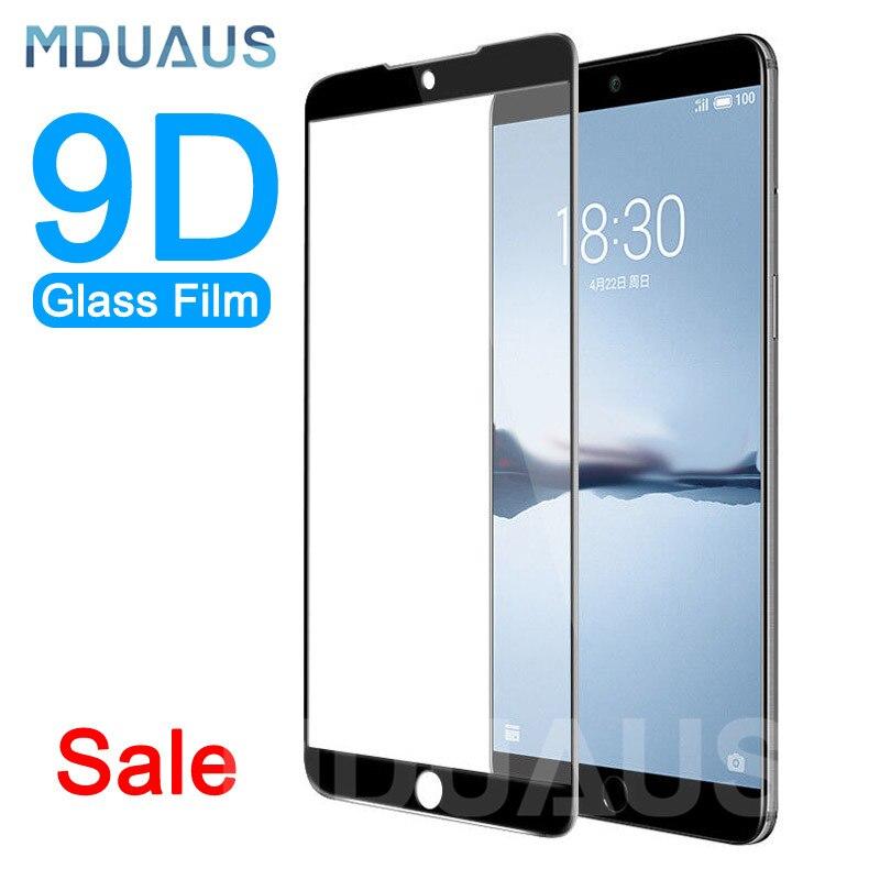 9D verre trempé de protection sur le pour Meizu 16 e 16X15 Lite Plus M15 X8 Note 8 9 Pro 7 Plus étui de protection d'écran en verre