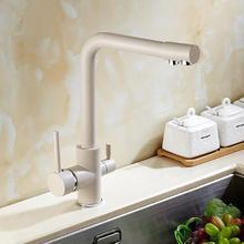 Новое поступление высокое качество латунь материал высокой температуры задыхаясь Однорычажный смеситель для кухни раковина с прямой питьевой трубы