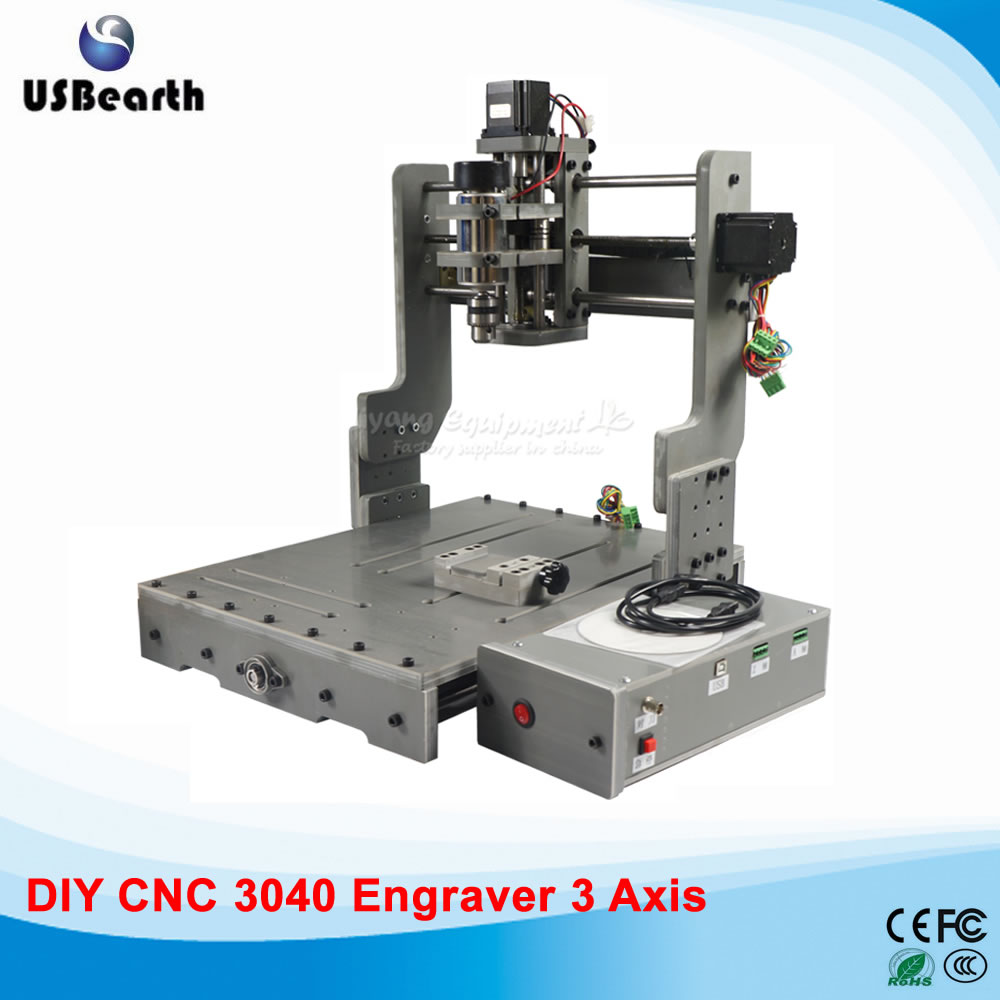 300W CNC Router Machine CNC3040 CNC Cutting Machine Mini Lathe, free tax to EU countries eur free tax cnc 6040z frame of engraving and milling machine for diy cnc router