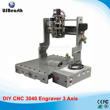 300W CNC Router Machine CNC3040 CNC Cutting Machine Mini Lathe, free tax to EU countries