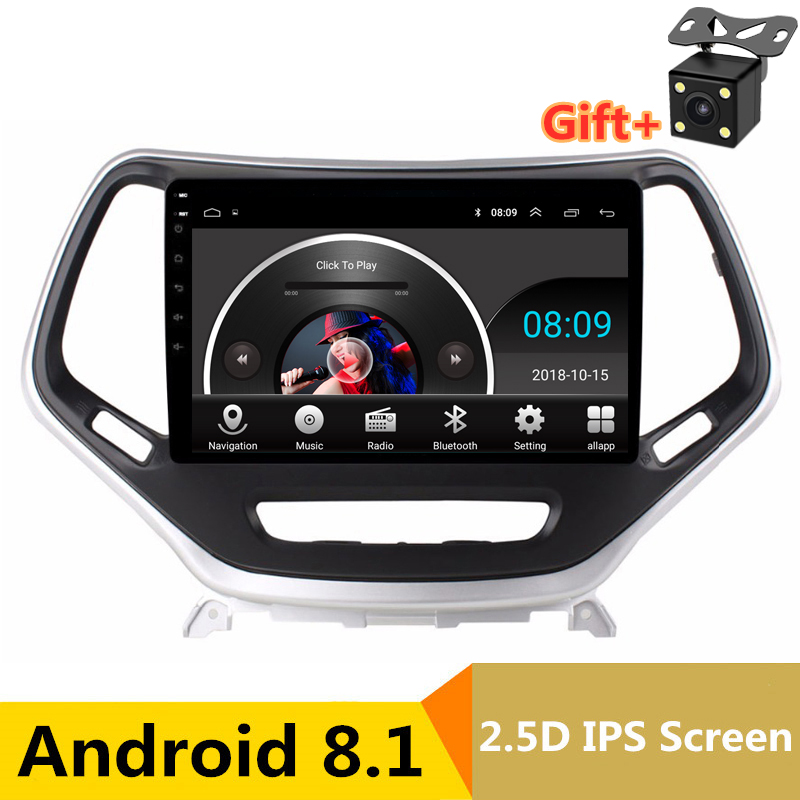 9 2.5D IPS Android 8.1 Car DVD Multimedia Player GPS for Jeep Cherokee 2014 2015 2016 2017 audio car radio stereo navigation9 2.5D IPS Android 8.1 Car DVD Multimedia Player GPS for Jeep Cherokee 2014 2015 2016 2017 audio car radio stereo navigation