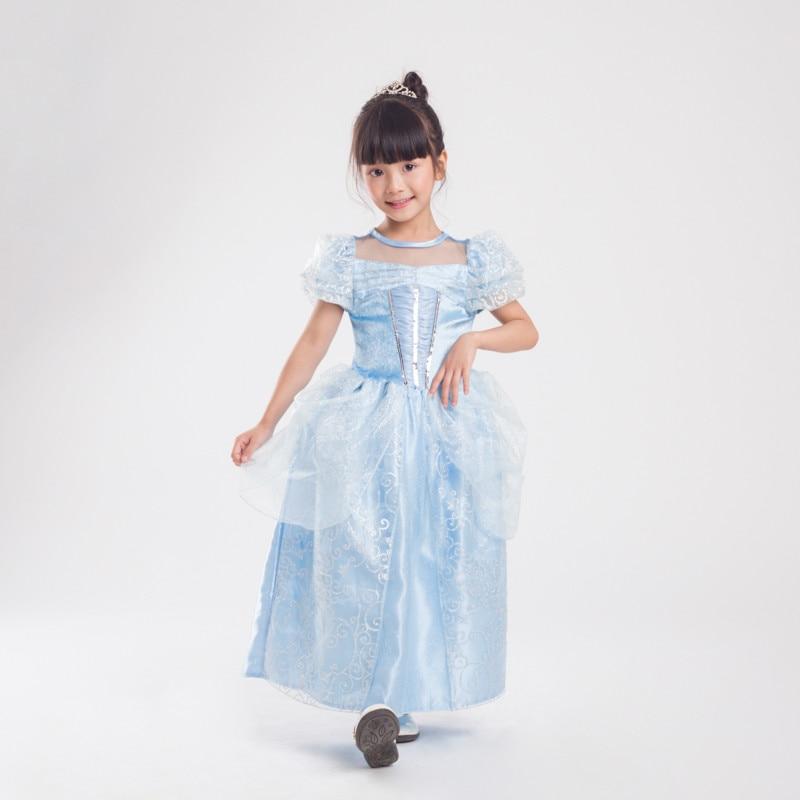 Original Princess Snow White Cinderella Dresses Costumes: Girls Cinderella Dresses Children Snow White Princess