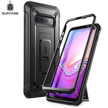 "For Samsung Galaxy S10 Plus Case 6.4"" SUPCASE UB Pro Full Body Rugged Holster Kickstand Cover WITHOUT Built in Screen Protector"