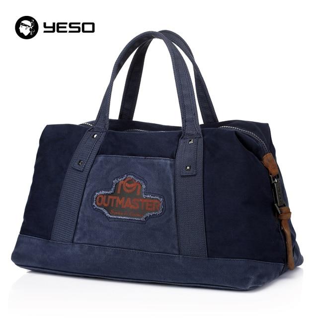 Bolsa de viaje de lona bolsa de equipaje de mano bolsas de fin de semana de los hombres de las mujeres unisex informal multifuncional de gran capacidad de bolsa de viaje de lona yeso