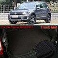 Нейлоновая Ткань моющийся Автомобильный багажник грузовой лайнер Ковровые Коврики для VW Tiguan 2008-2015